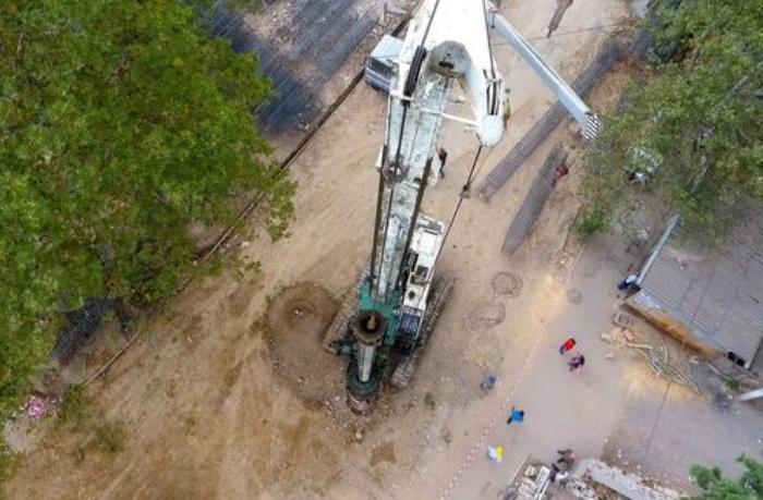 Tovuzda yeni avtomobil tunelinin inşasına başlanıldı - FOTO
