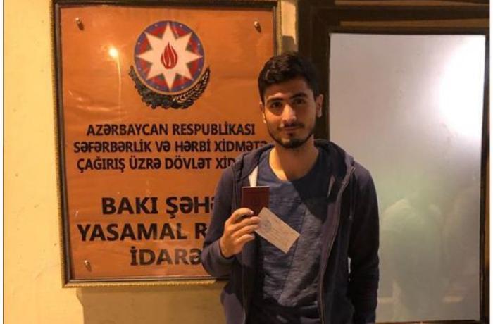 Azərbaycanın aparıcı idmançısı hərbi xidmətə çağırıldı