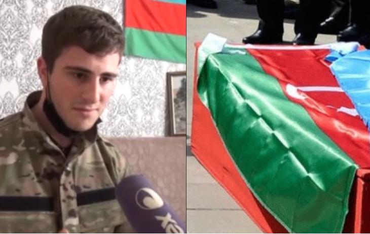 """""""Gözümü açanda gördüm ki, bayrağa bükülüb tabuta qoyulmuşam"""" - VİDEO"""