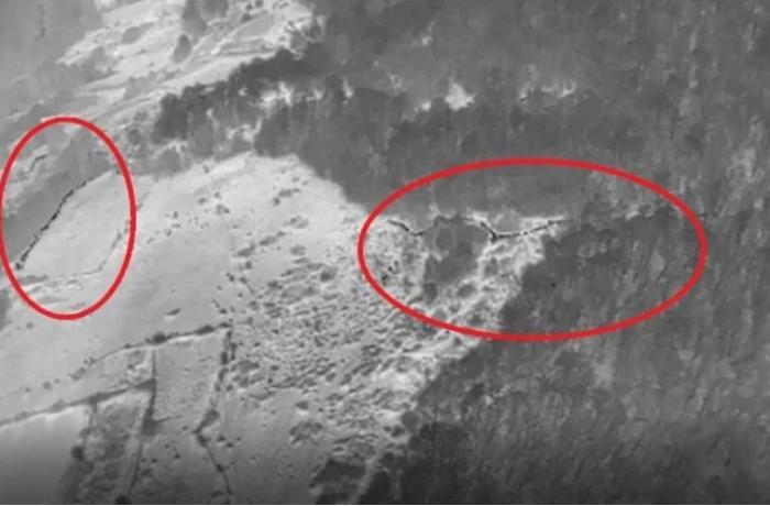 Ermənilər ordumuzun Şuşaya qayalıqlarla daxil olma görüntülərini yaydı – REAL KADRLAR