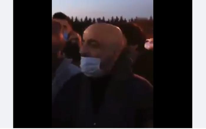Həbsdən çıxan Mübariz Mənsimov belə qarşılandı - VİDEO